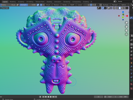 (NEW) Sculpt for 3D Print Course coming soon...