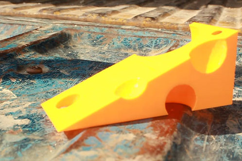 Cheese Door Wedge (3D Print Download)