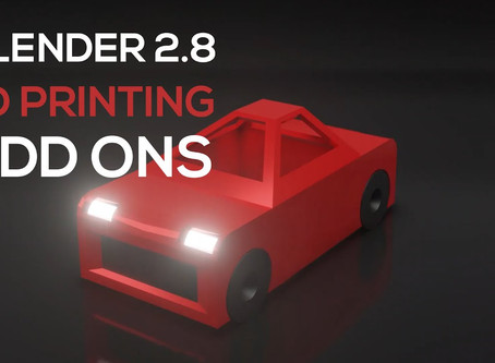 Must-Have Blender 2.8 Add Ons for 3D Print Design (2020) - 3D Print Toolbox & Bool Tool Setup