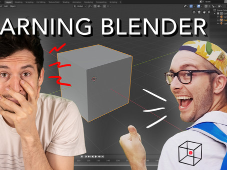 Learn Blender for 3D Printing - LIVE with Make Anything!