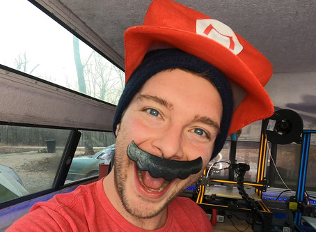 3D Print a FREE Mario Hat & Mustache