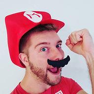 Mario Hat & Mustache