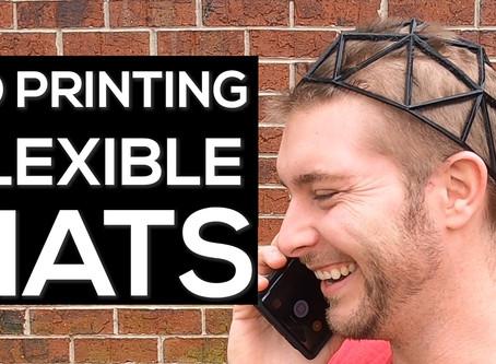 3D Printing Hats (Flexible)