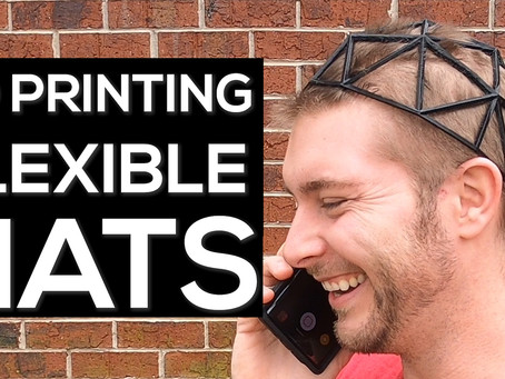 3D Printing Hats (Flexible)