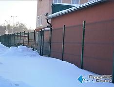 """Панельный забор (Хорлбат) в Тольятти. Группа компаний """"ПрофильСтрой""""."""