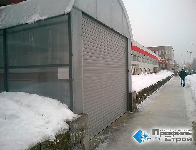 Секционные ворота Алютех тольятти
