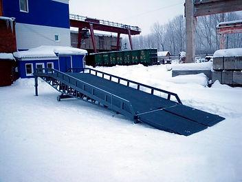 Мобильная рампа Тольятти