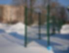 """Панельное ограждение (Аквалэнд) в Тольятти.  Группа компаний """"ПрофильСтрой"""""""
