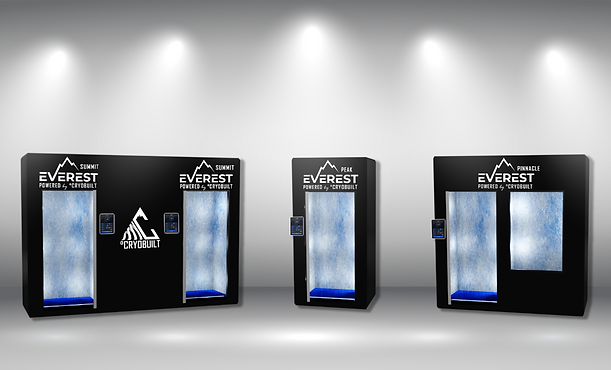 Everest,Everest Chambers, Electric Cryotherapy, Electric Cryotherapy Chambers, Peak Chamber, Pinnacle Chamber, Summit Chamber, Electric Cryo