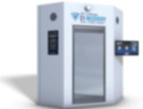 Cryobuilt C1 chamber, cryotherapy chamber, freezing cold chamber, c1 chamber for cryotherapy,c1, cryotherapy
