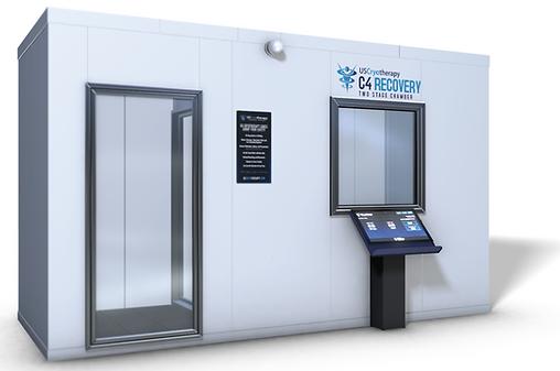 Cryobuilt C4 chamber, cryotherapy chamber, freezing cold chamber, c4 chamber for cryotherapy, c4, cryotherapy