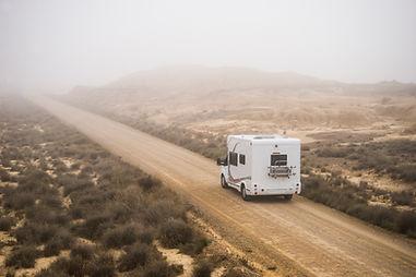 大篷車在沙漠
