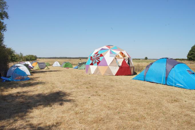 Espace de camping