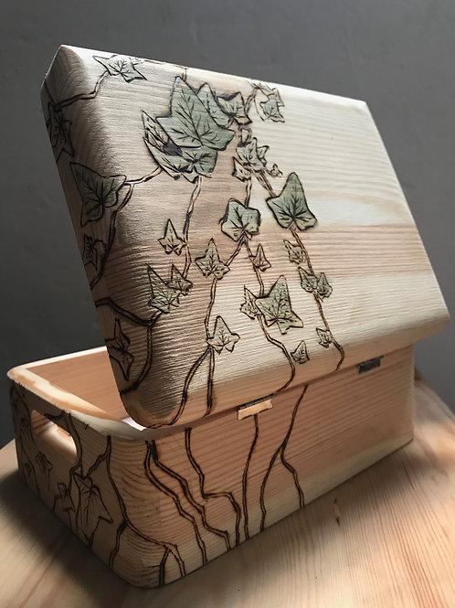 Pyrography design box