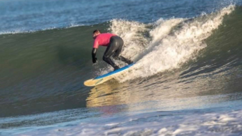 Surf Board and wettie