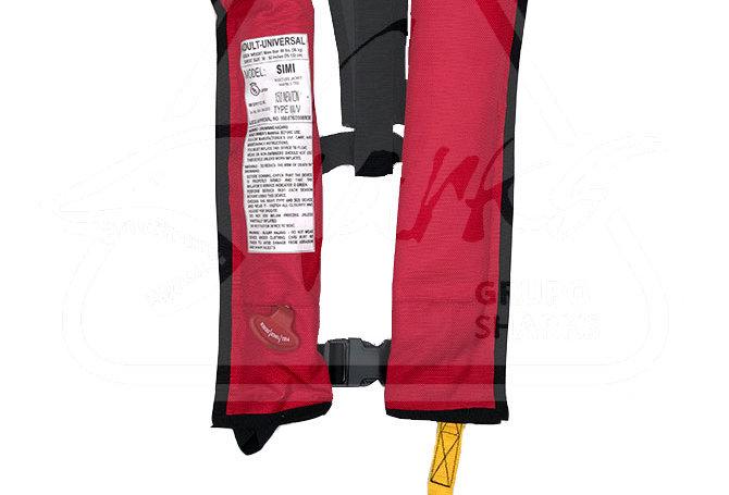 Inflable Semi Automatico | Rojo | Una cámara