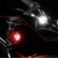 Fahrradlampen Mini 2er Set | Easy val.you GbR