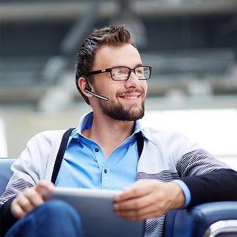 Bluetooth Headset Business Tarife für Handy Telefon Smartphone iPhone Bloothooth
