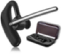 Bluetooth Headset Business für Handy Telefon Smartphone iPhone Bloothooth - Voiceway