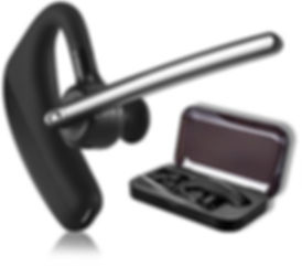 Bluetooth Headset Business für Handy Telefon Smartphone iPhone Bloothooth - Voiceway