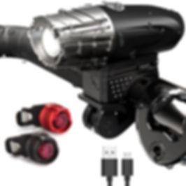 Fahrradlampe Front Set | Easy val.you GbR
