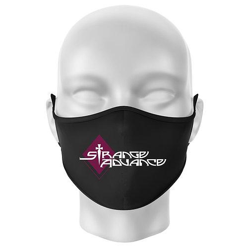 Face Mask w/Strange Advance logo - center