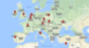 Zahraničné svadby mapa