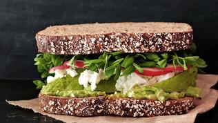 Vegan Sandwich.