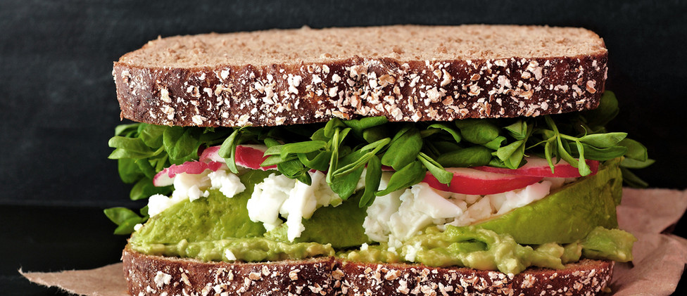 Vegan sendvič