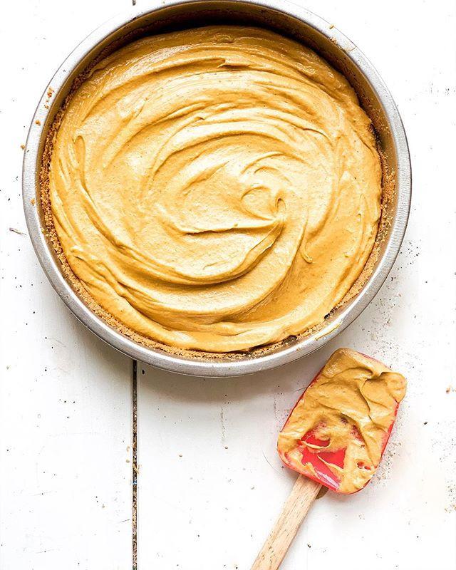 Healthier Peanut Butter Pumpkin Pie