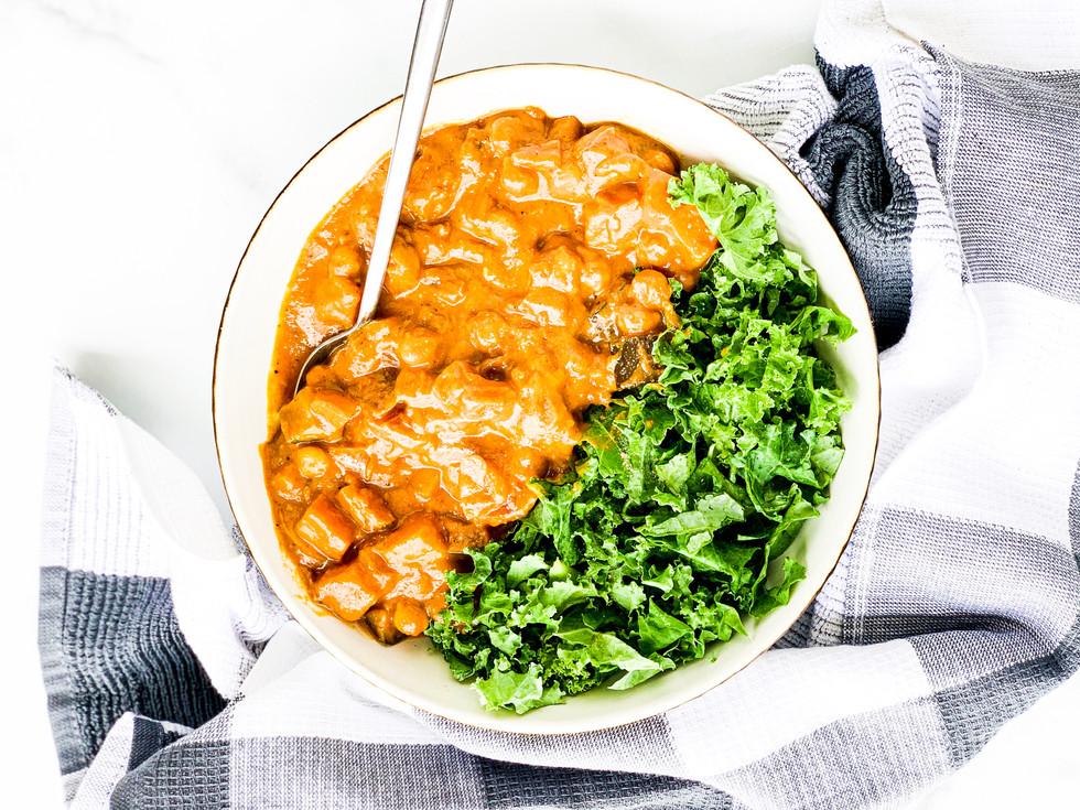 Comforting Vegan Curry