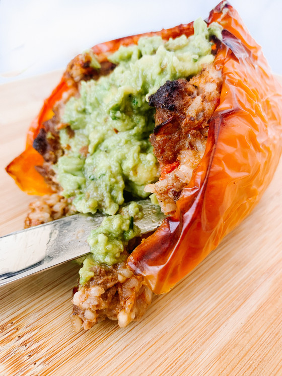 Easy Stuffed Peppers- Mexican