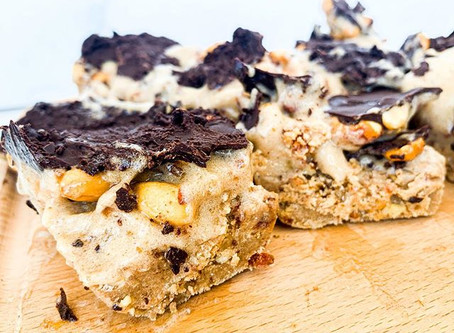 Raw Snickers Bars
