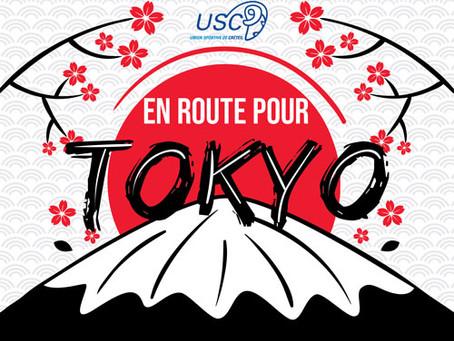 En route pour Tokyo avec nos sportifs !