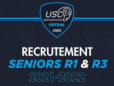 Futsal : Saison 2021-22 en préparation...