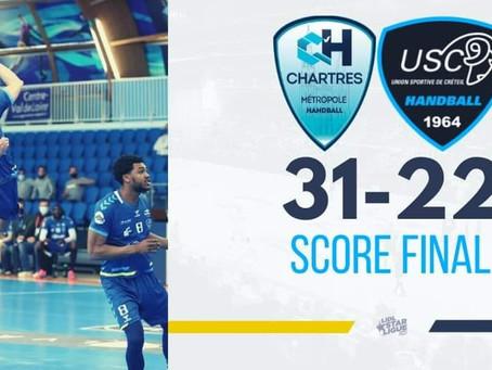 Handball : Créteil tombe à Chartres...
