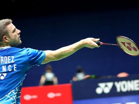 Badminton : Brice Leverdez est fixé !