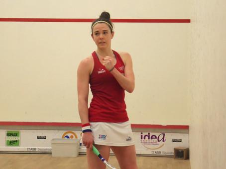 Squash : Enora Villard irrésistible à Mulhouse !