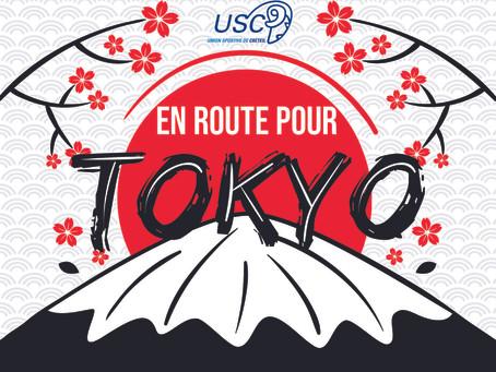 Suivez nos Béliers à Tokyo !
