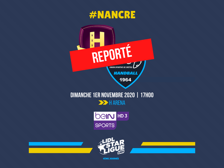 Handball : Nantes/Créteil reporté...