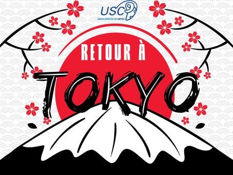 Retour à Tokyo !