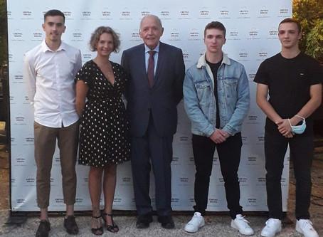 3 Béliers lauréats du Contrat d'Excellence Créteil Soleil !