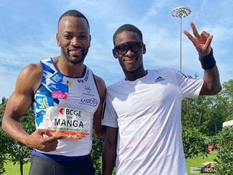 Athlétisme : Aurel Manga s'en rapproche !
