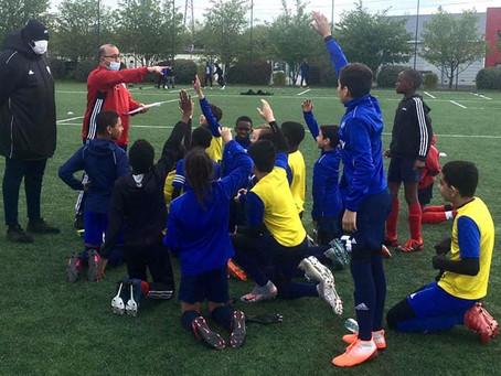 """Football : Retour des stages """"foot citoyen"""" !"""