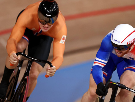Cyclisme : Rayan Helal et Sébastien Vigier en mode Keirin !