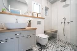 אריחים מצויירים חדר רחצה עיצוב חדר רחצה