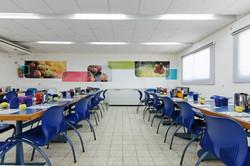 צבעוניות בחדר אוכל