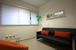 עיצוב חדר טיפולים