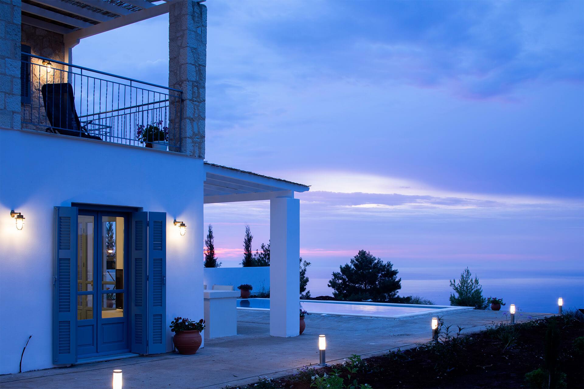 עיצוב בית נופש ביוון סיגל סיוון ידוב