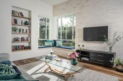 עיצוב נישות בסלון עיצוב סלון